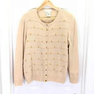 Escada Margaret Ley Vintage Beaded Cardigan